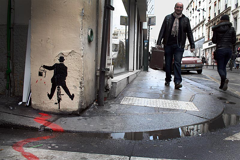 Nick Walker street art paris photo: copyright 2012 demian smith